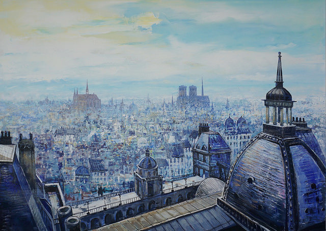 Paris France Art Scenes by Paul Ygartua