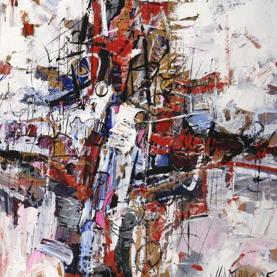 Modern Abstract Art by Vancouver artist