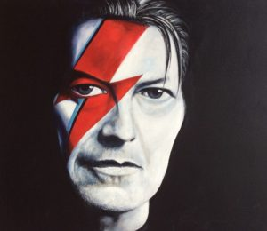Portrait of David Bowie by Paul Ygartua