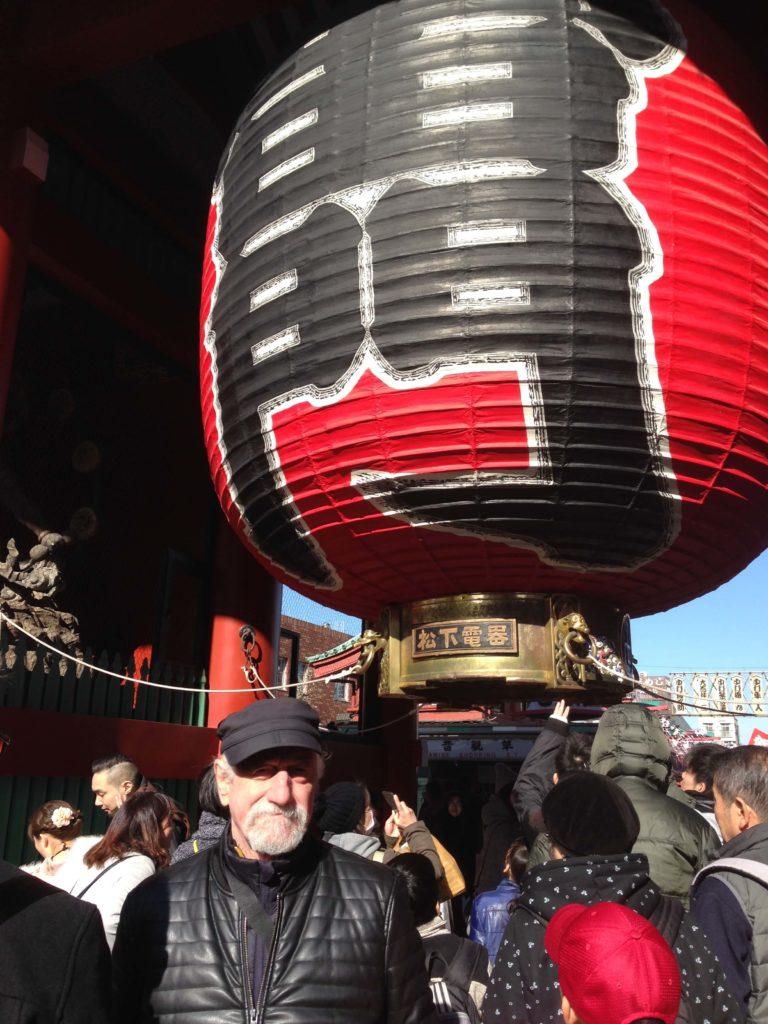 Paul Ygartua in Japan Tokyo